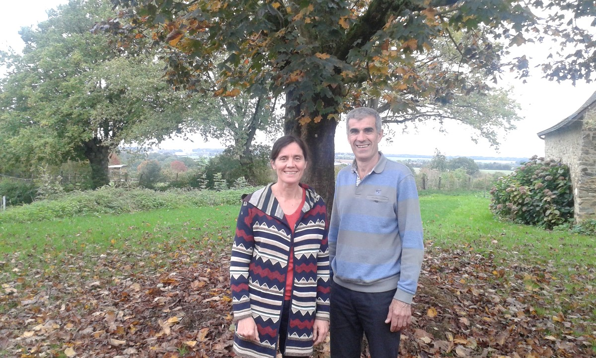 Béatrice and Dominique Bordeau Chamber of agriculture of Mayenne